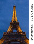 paris   september 18  2014 ... | Shutterstock . vector #1217756587