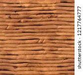 beige plasticine tabby rolls... | Shutterstock . vector #1217764777
