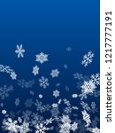 winter snowflakes border simple ... | Shutterstock .eps vector #1217777191
