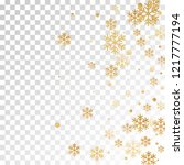 winter snowflakes and circles... | Shutterstock .eps vector #1217777194