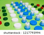ecology recycling concept. many ... | Shutterstock . vector #1217793994