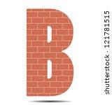 Vector Illustration Letter B I...