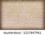 linen fabric texture or... | Shutterstock . vector #1217847961