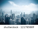 aerial view of beautiful... | Shutterstock . vector #121785889