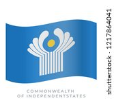 commonwealth of independent... | Shutterstock .eps vector #1217864041