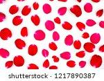 Stock photo roses isolated on white background 1217890387