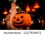 nightlife of halloween | Shutterstock . vector #1217924671