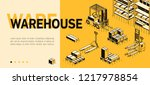 vector 3d isometric site... | Shutterstock .eps vector #1217978854