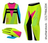 templates jersey for mountain... | Shutterstock .eps vector #1217986204