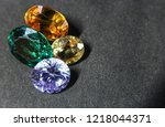 natural sapphire gemstone | Shutterstock . vector #1218044371
