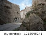 the fort saint elme above... | Shutterstock . vector #1218045241