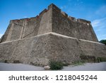 the fort saint elme above... | Shutterstock . vector #1218045244