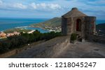 the fort saint elme above... | Shutterstock . vector #1218045247