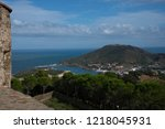 view to vernet les bains  in... | Shutterstock . vector #1218045931
