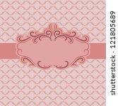 template frame design for...   Shutterstock . vector #121805689