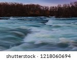 american side of the niagara... | Shutterstock . vector #1218060694