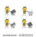 vector illustration character...   Shutterstock .eps vector #1218122221