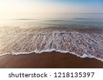 the sea in the summer holiday... | Shutterstock . vector #1218135397