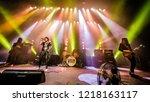 october 29 2018. concert of...   Shutterstock . vector #1218163117