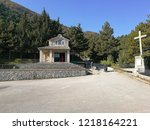 castelpetroso   apparition...   Shutterstock . vector #1218164221