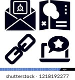 interface related filled vector ... | Shutterstock .eps vector #1218192277