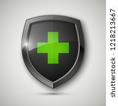 medical health protection... | Shutterstock .eps vector #1218213667