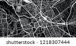 urban vector city map of... | Shutterstock .eps vector #1218307444