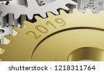 metal gear wheels with the... | Shutterstock . vector #1218311764