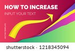 vector colorful template to... | Shutterstock .eps vector #1218345094