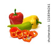 fresh  nutritious  tasty... | Shutterstock .eps vector #1218346261