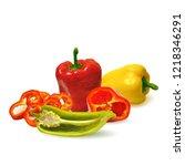 fresh  nutritious  tasty... | Shutterstock .eps vector #1218346291
