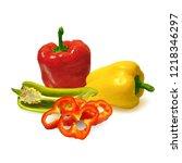 fresh  nutritious  tasty... | Shutterstock .eps vector #1218346297