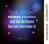 biblical scripture verse from... | Shutterstock .eps vector #1218366457