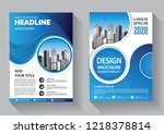 brochure template layout  cover ... | Shutterstock .eps vector #1218378814