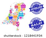 best shopping combination of...   Shutterstock .eps vector #1218441934