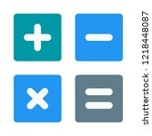 types of calculations | Shutterstock .eps vector #1218448087