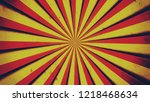 red and yellow stripes  fat... | Shutterstock . vector #1218468634