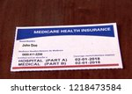 Medicare Card For A Fictitious...