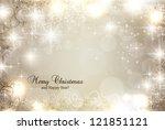 holiday design | Shutterstock .eps vector #121851121