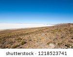salar de uyuni  bolivia....   Shutterstock . vector #1218523741