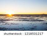 salar de uyuni  bolivia....   Shutterstock . vector #1218531217