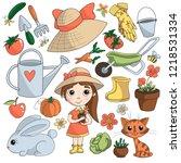 Cute Hand Drawn Garden Icons...