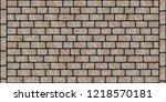 road pavement texture of... | Shutterstock . vector #1218570181