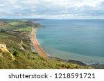scenic view of the dorset...   Shutterstock . vector #1218591721