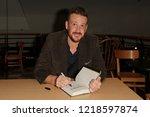 huntington  ny   oct 30  actor... | Shutterstock . vector #1218597874
