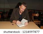 huntington  ny   oct 30  actor... | Shutterstock . vector #1218597877