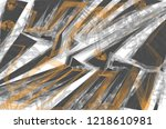 underground style. the mess in... | Shutterstock .eps vector #1218610981