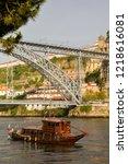 porto  portugal   june 13 2018  ...   Shutterstock . vector #1218616081
