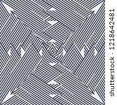 geometric seamless pattern ...   Shutterstock .eps vector #1218642481