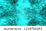 glow light with decorative... | Shutterstock . vector #1218705391